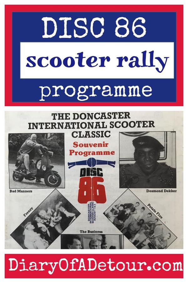 Doncaster DISC 86 scooter rally programme