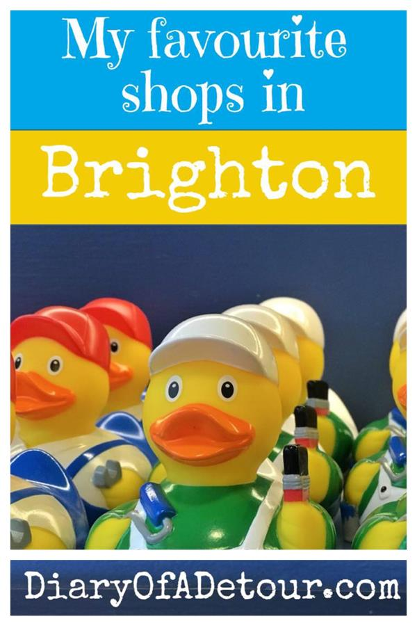 Tips for a day trip to Brighton and where to find the best shops
