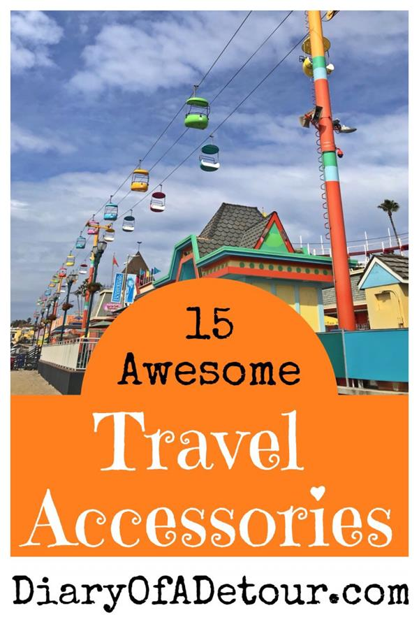 Awesome travel accessories for your next trip