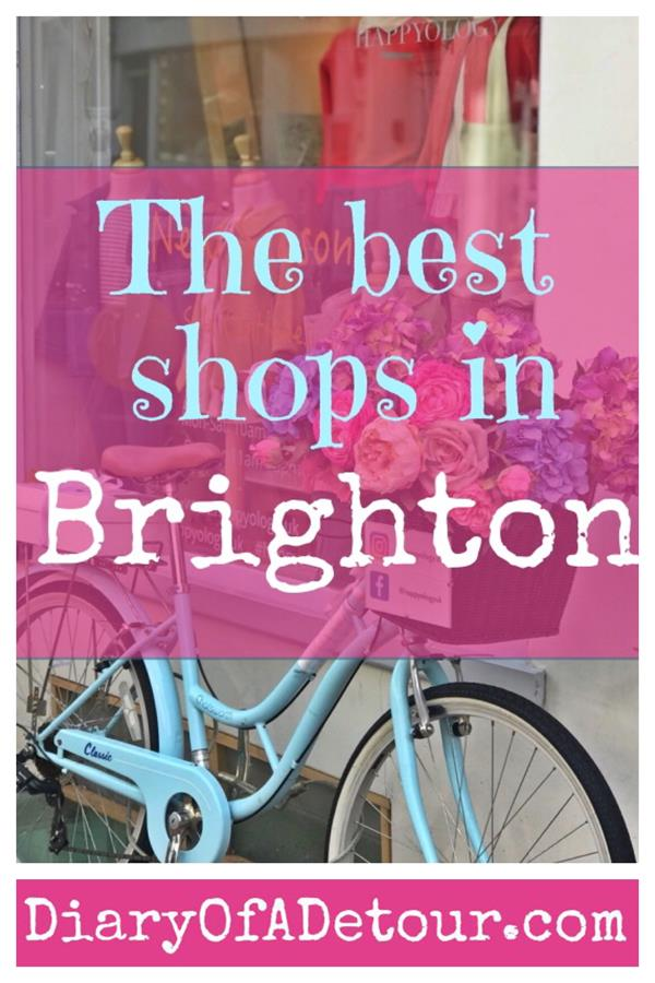 Brighton shops - the best places to visit in the Lanes and the North Laine