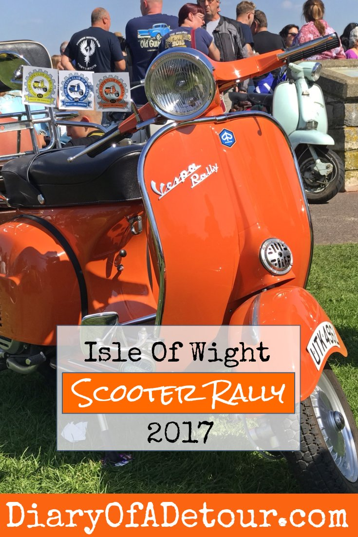 Isle of Wight scooter rally write-up from 2017
