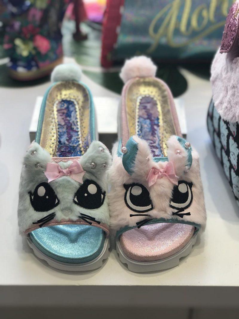 Kitten sandals in Irregular Choice