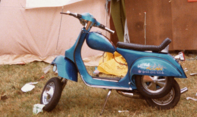 Custom vespa scooters for sale uk