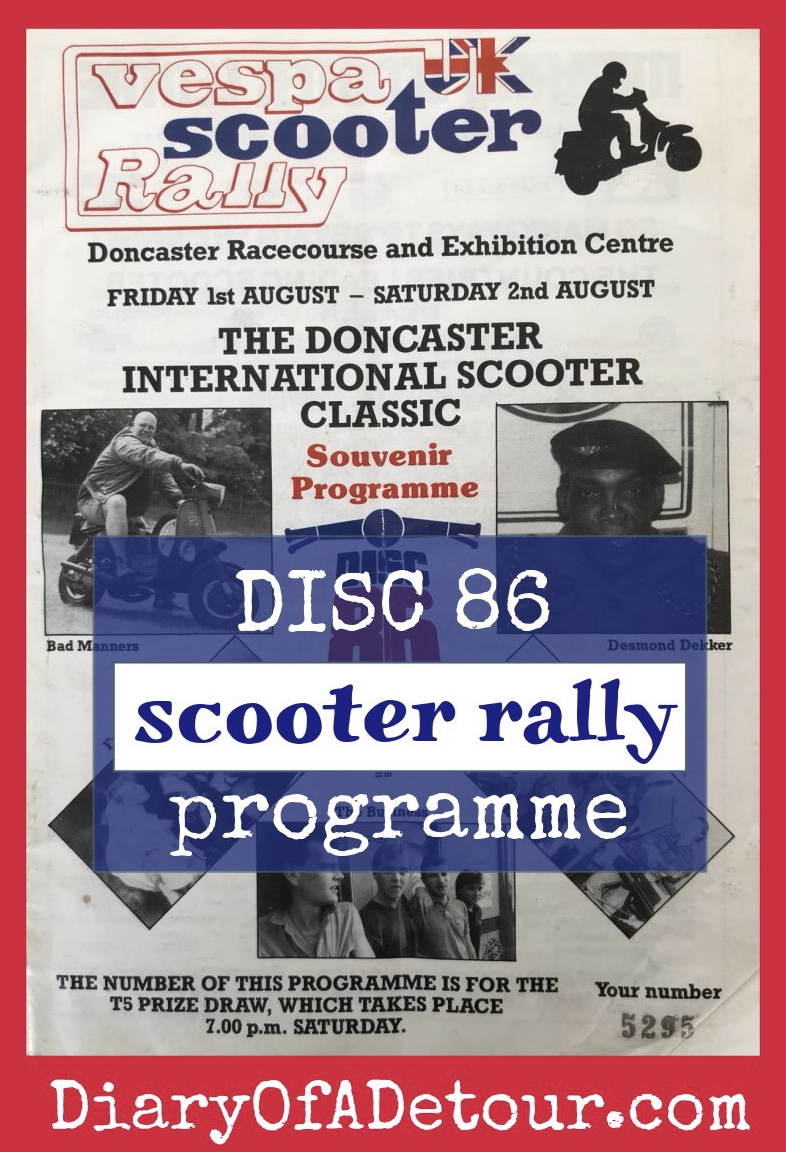 Doncaster scooter rally programme
