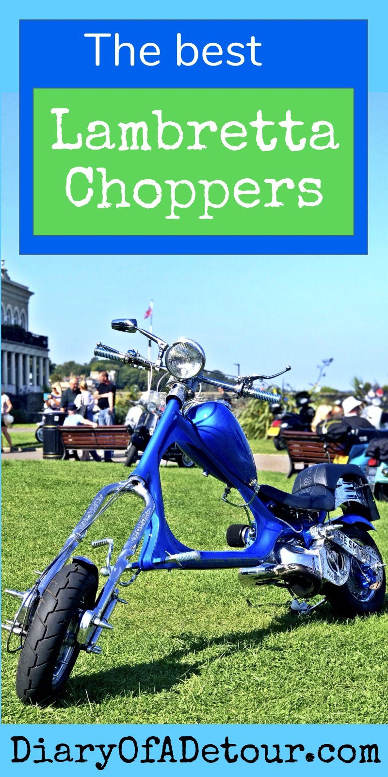 Lambretta Choppers : the most radical Lambretta scooter choppers