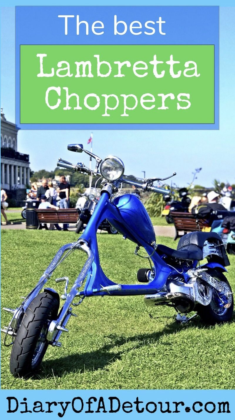 The best Lambretta choppers featuring Meat Is Murder