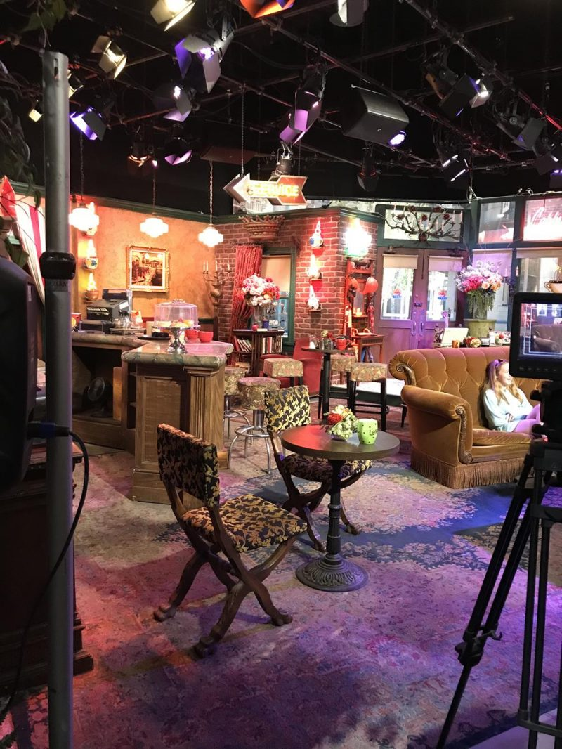 Central Perk set at Warner Brothers studio tour