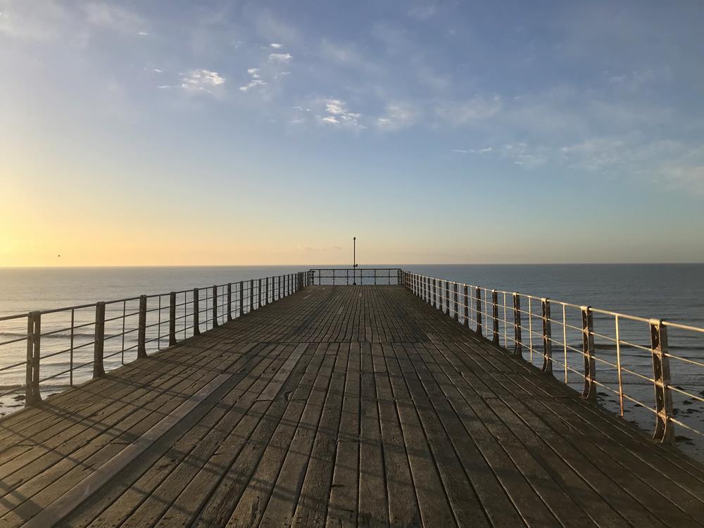 End of the pier at Bognor Regis