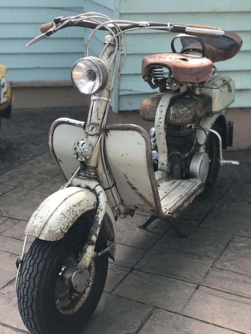 Rusty Model D scooter