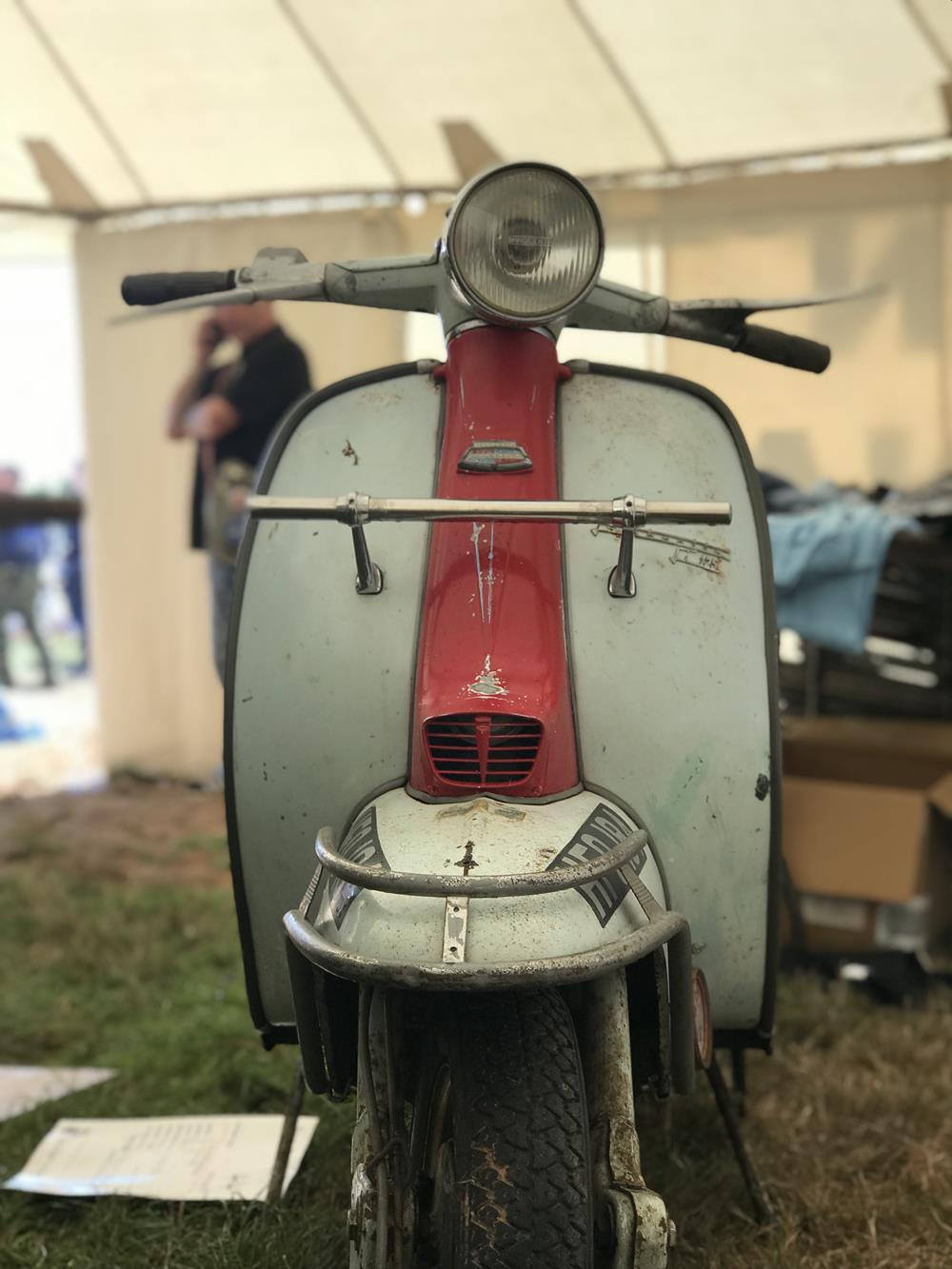 Crusader Promotions Lambretta at the Isle of Wight scooter rally
