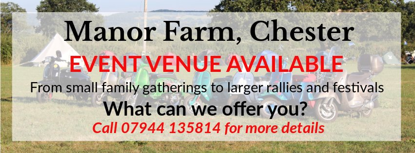 Advert for Manor Farm, Chester
