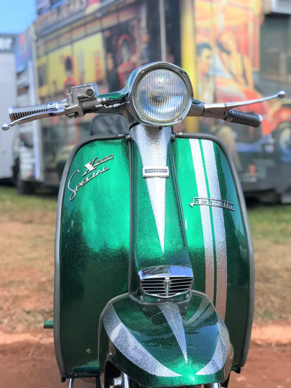 Green Lambretta