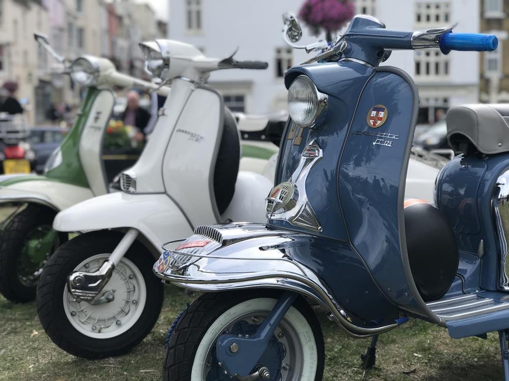 Blue Lambretta Series 1