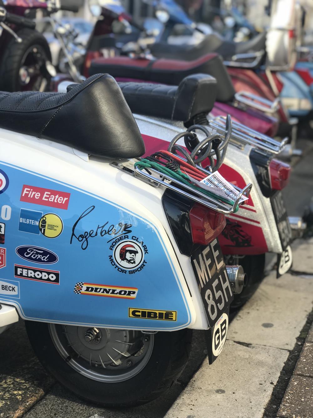 Street racer style Lambretta