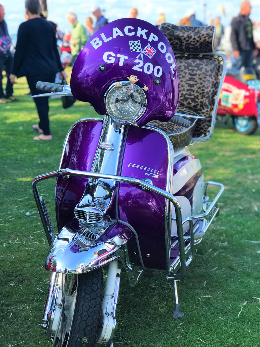 Purple Lambretta