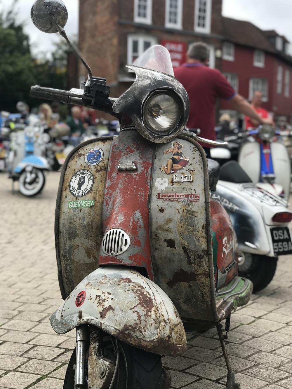 Rusty Lambretta
