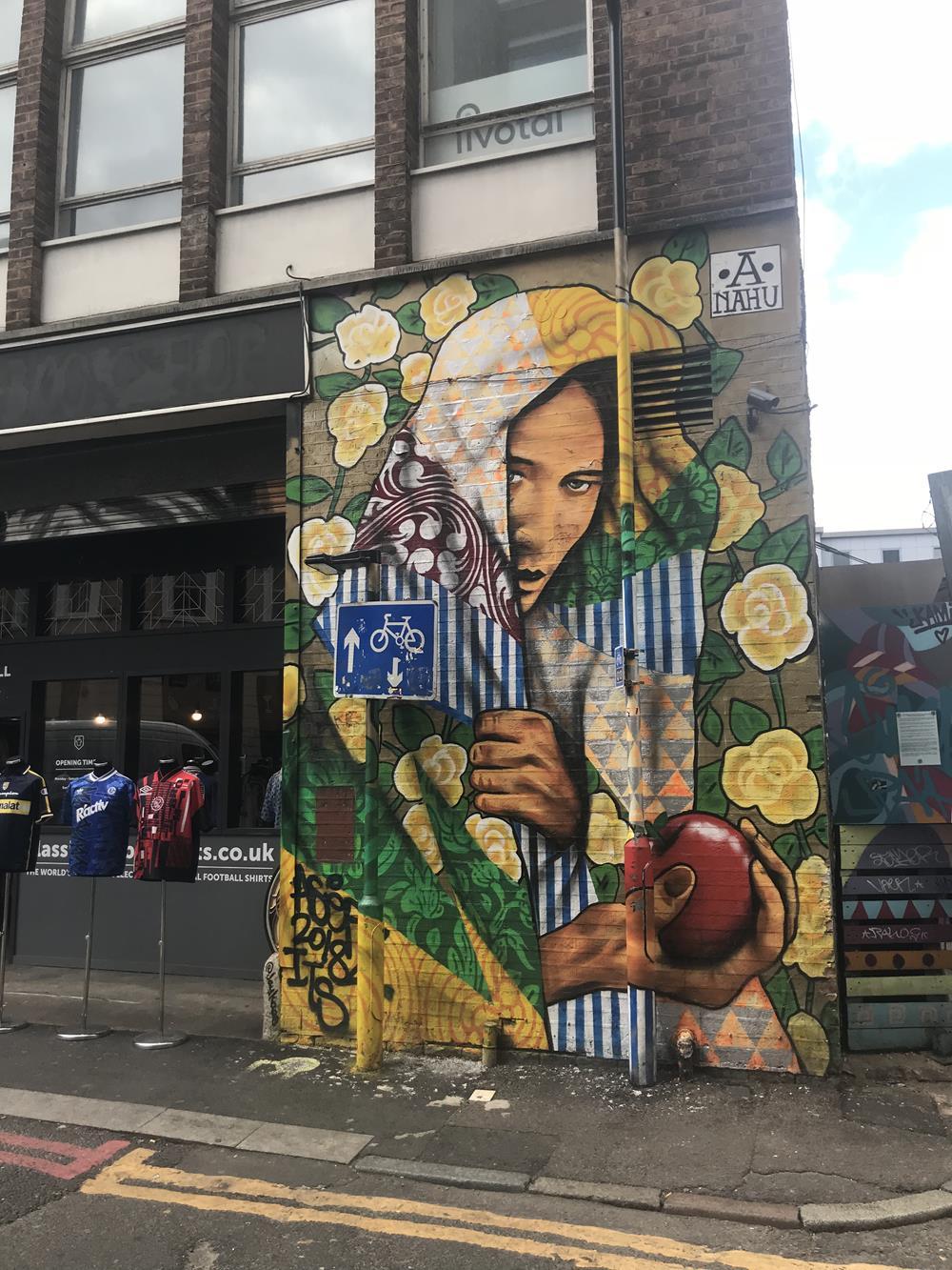 Shoreditch street art near Old Street