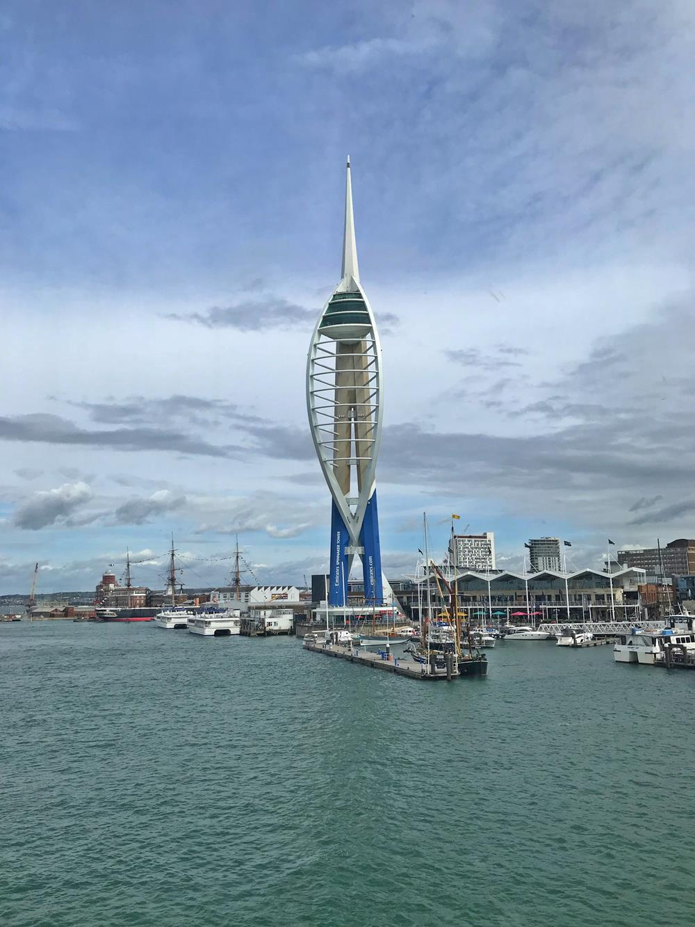 Spinakker Tower at Portsmouth