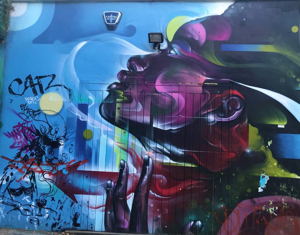Brick Lane street art in Shoreditch