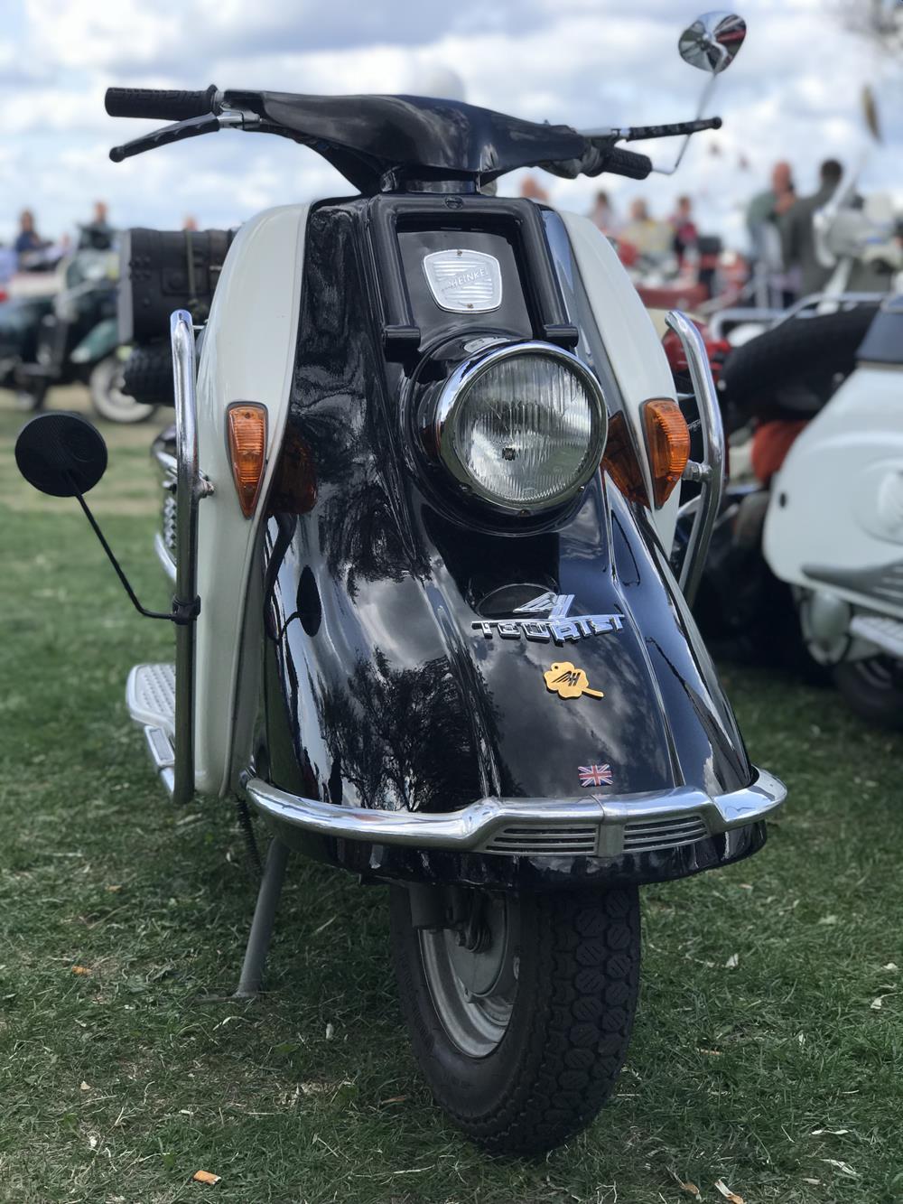 Vintage Heinkel Tourist scooter