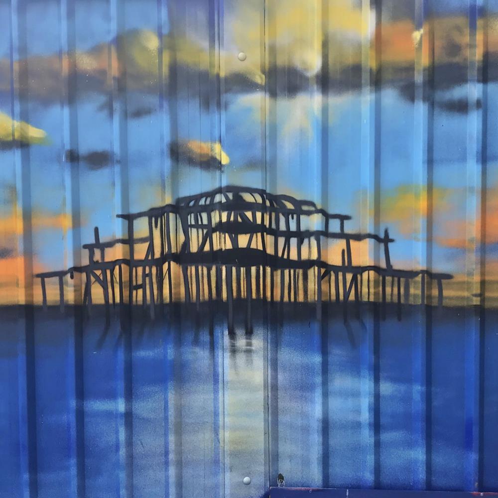 Brighton-West-Pier-mural-Glimmertwin