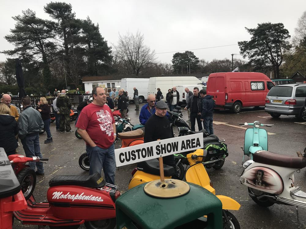 Warmwell scooter custom show