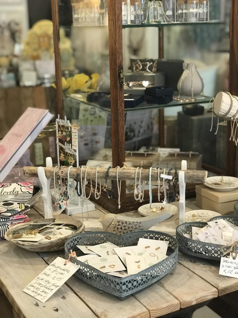 Jewellery at Little Beach Boutique in Brighton