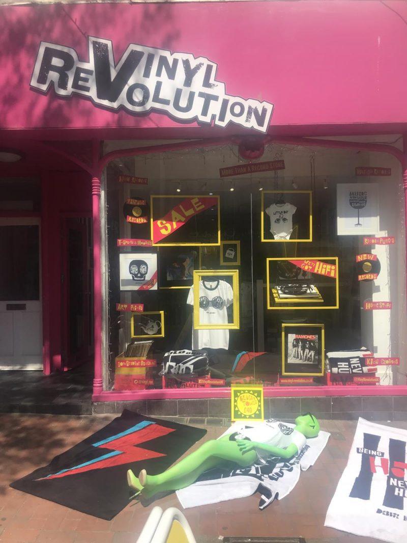Vinyl Revolution's shop front in Duke Street