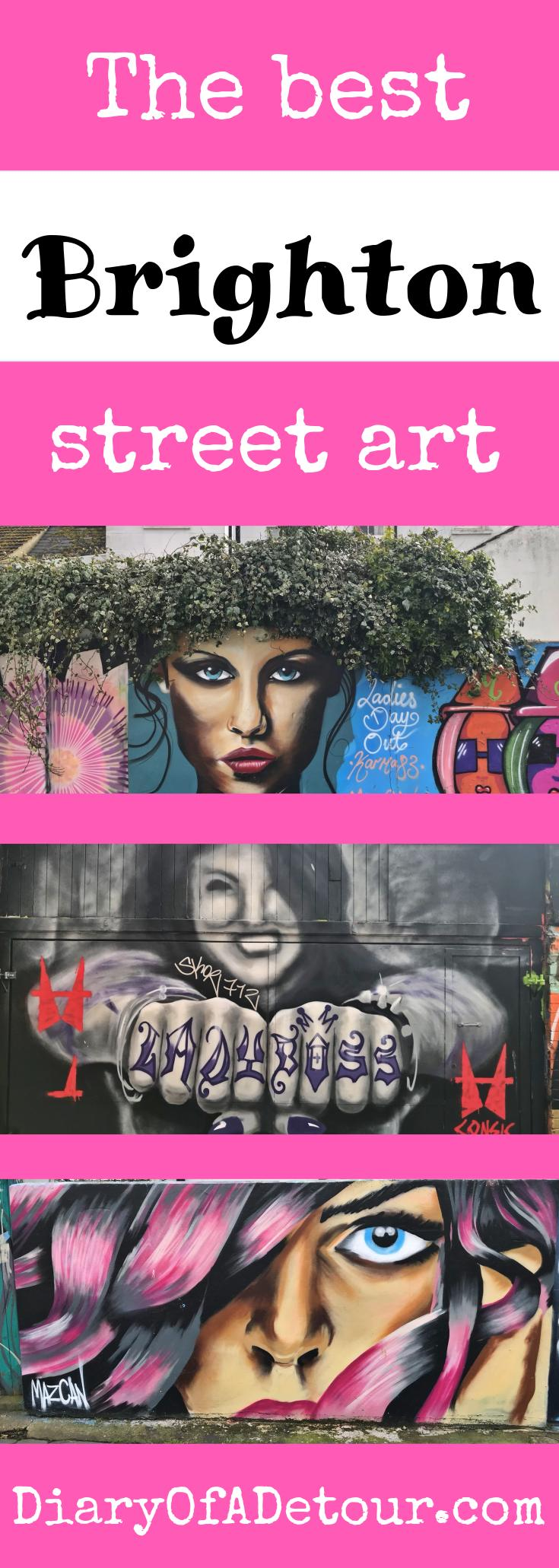 The best Brighton street art including Mazcan, Cosmo Sarson and Broke-Art