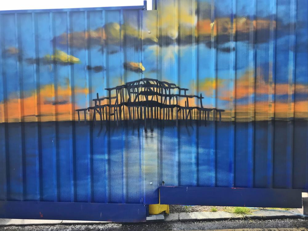 West Pier graffiti by Glimmertwin 32