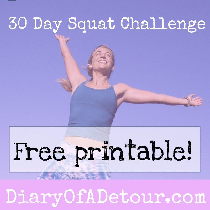 image regarding 30 Day Squat Challenge Printable titled 30 working day squat situation : a exercise issue for all capabilities