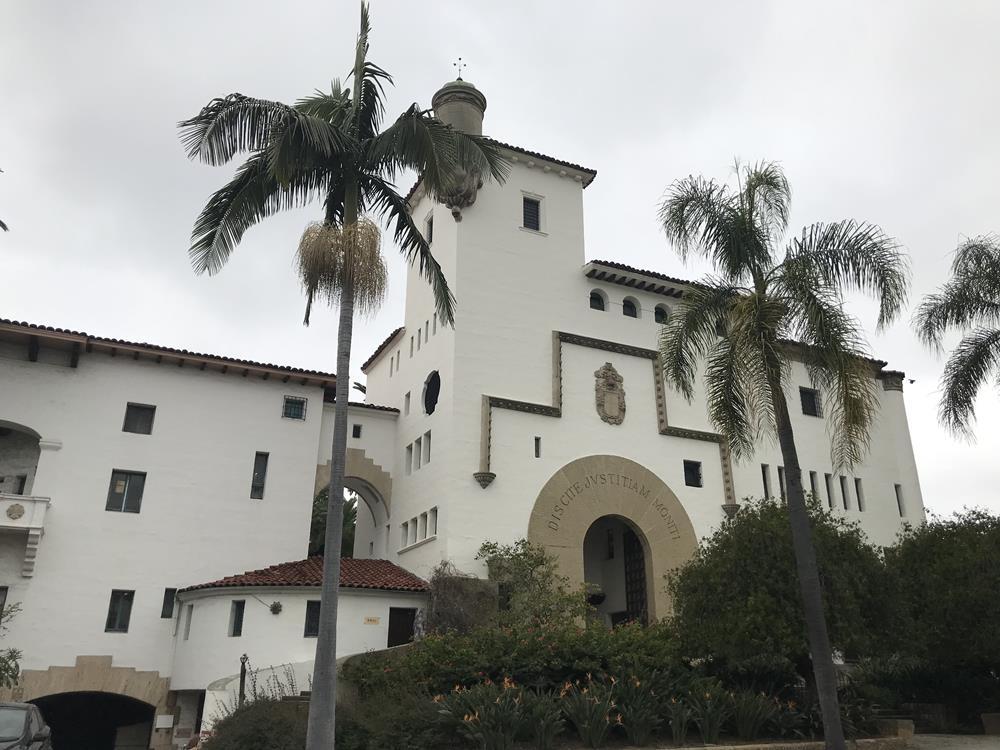 Santa Barbara courthouse building