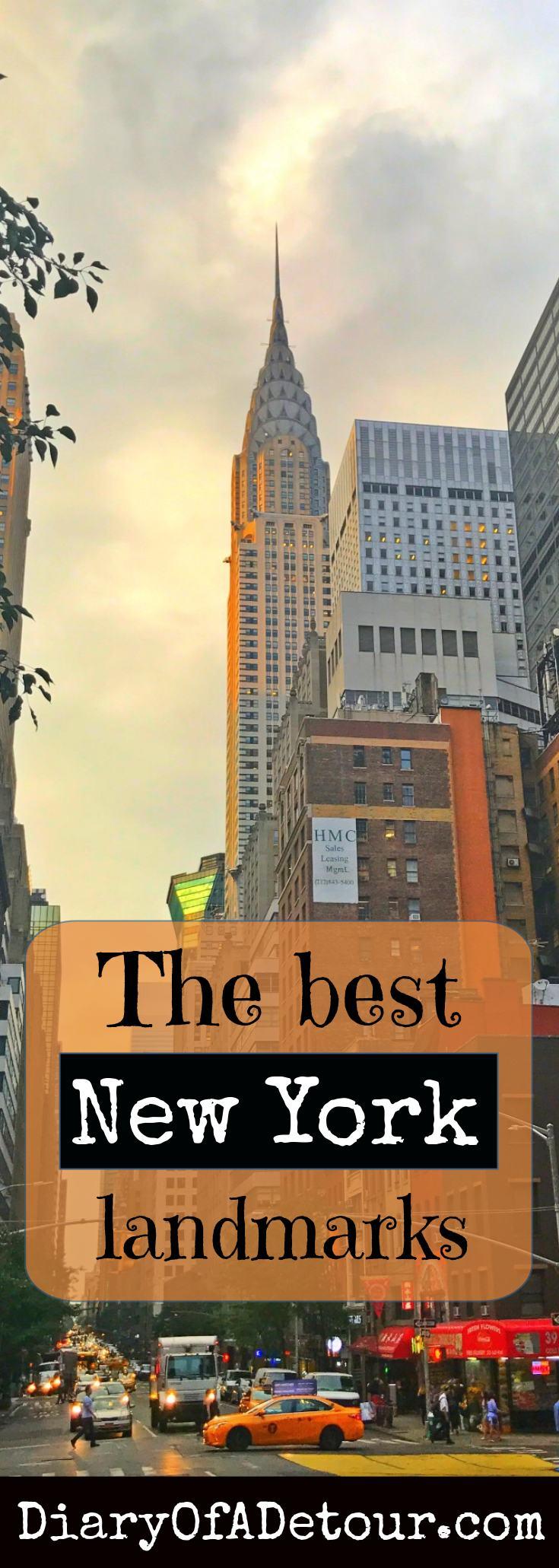 best new york landmarks image for pinning