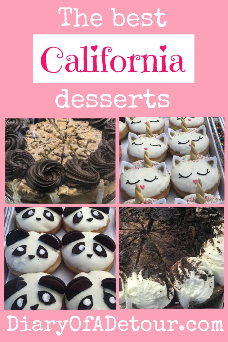 The best California desserts featuring Cheesecake Factory and California Donuts