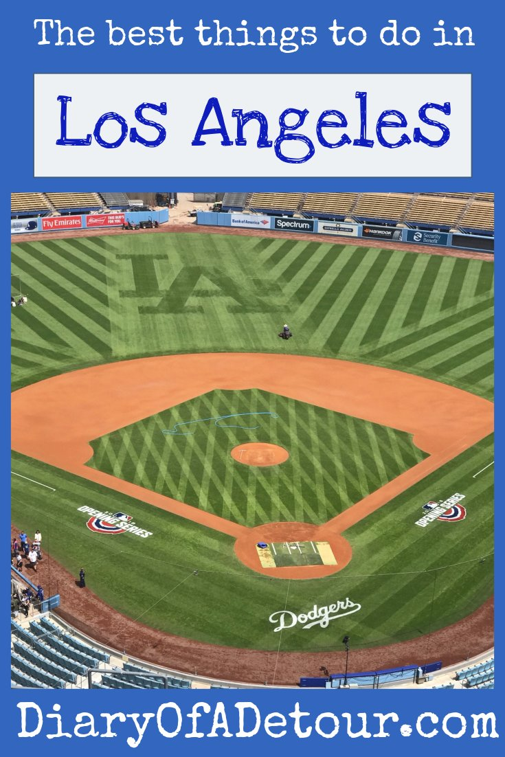 The best things to do in LA main image including panoramic view of Dodger Stadium