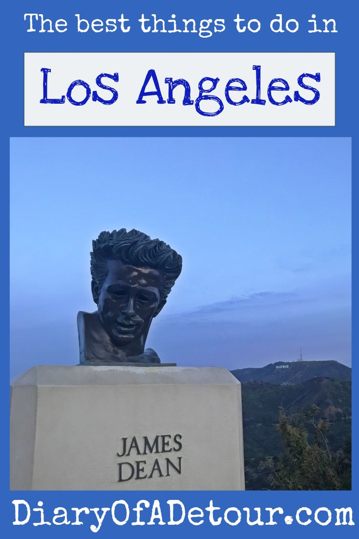 The best things to do in LA main image including james dean bust