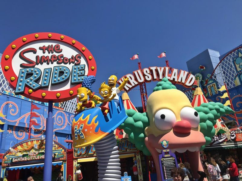 Krustyland at Universal Studios in Hollywood