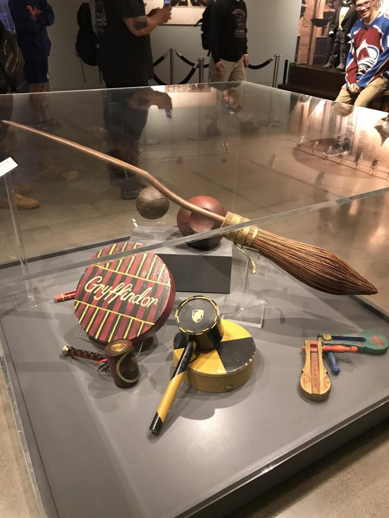 Quidditch and broomsticks at Warner Bros Los Angeles
