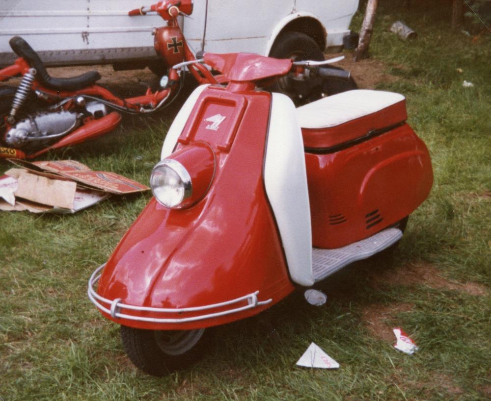 1950s scooter oddity