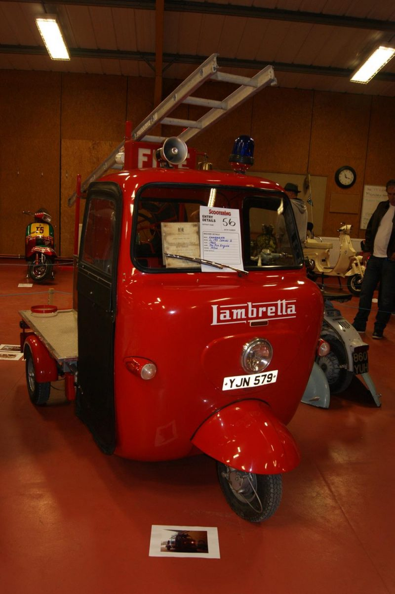 Lambretta from 1960 fire engine
