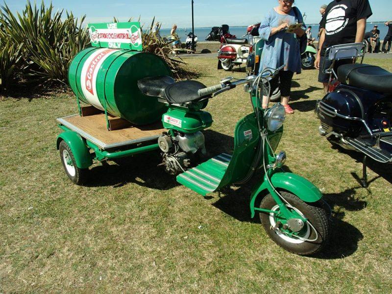 Green Castrol oil Lambretta