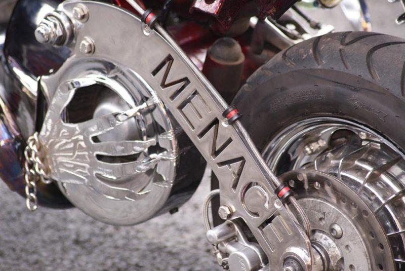 Lambretta Menace hydrolic rear disc