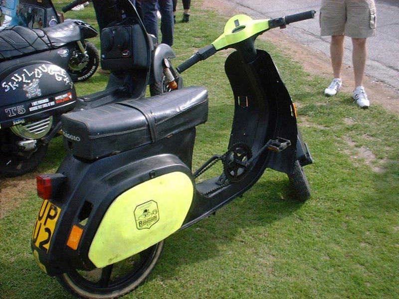 Vespa PK scooter bicycle