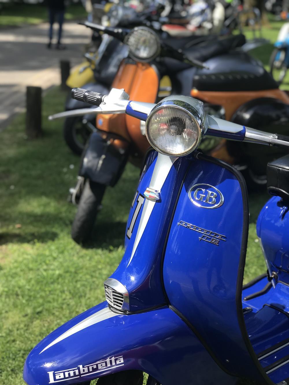 Blue Lambretta