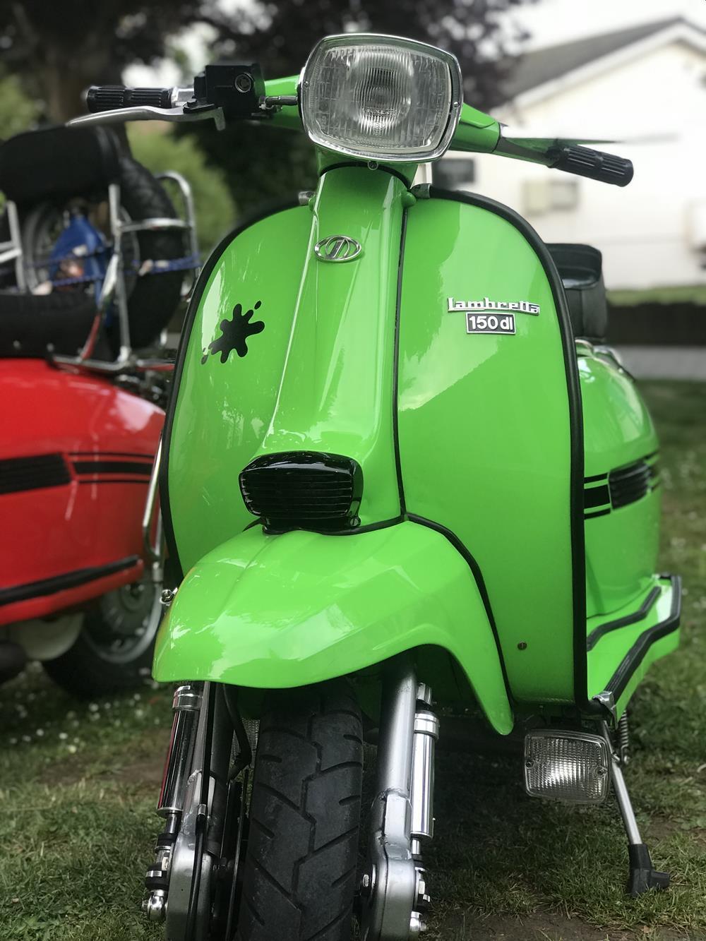 Green GP Lambretta