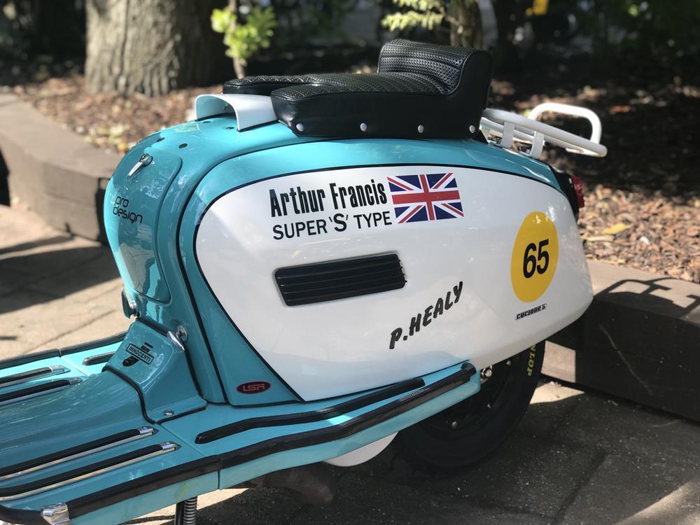 Arthur Francis S Type Lambretta