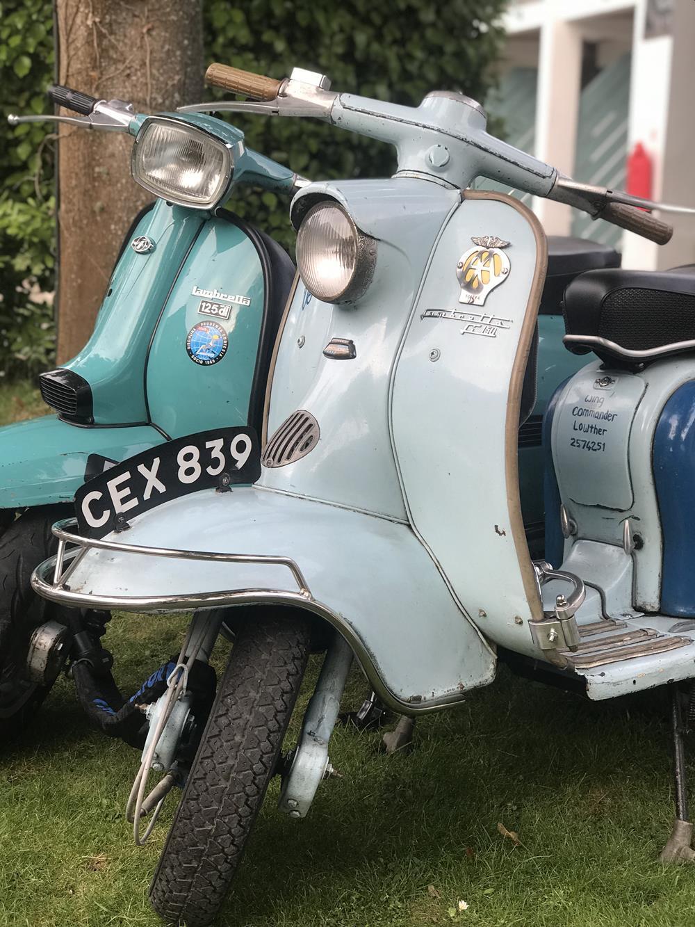 Series 1 Lambretta scooter