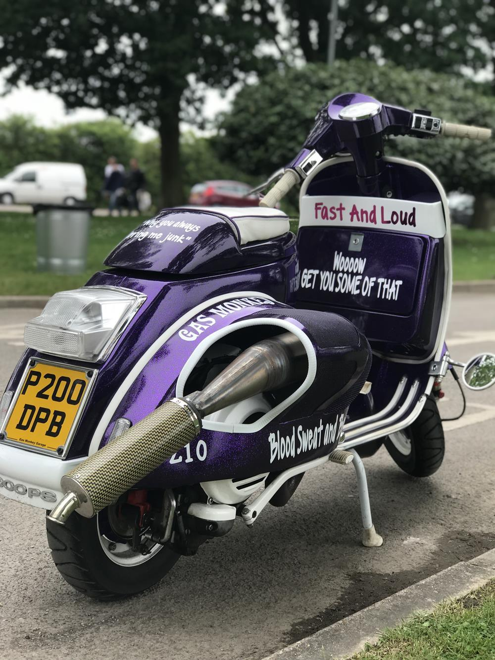 Hayling Island Scooter Rally 2018 : Diary Of A Detour