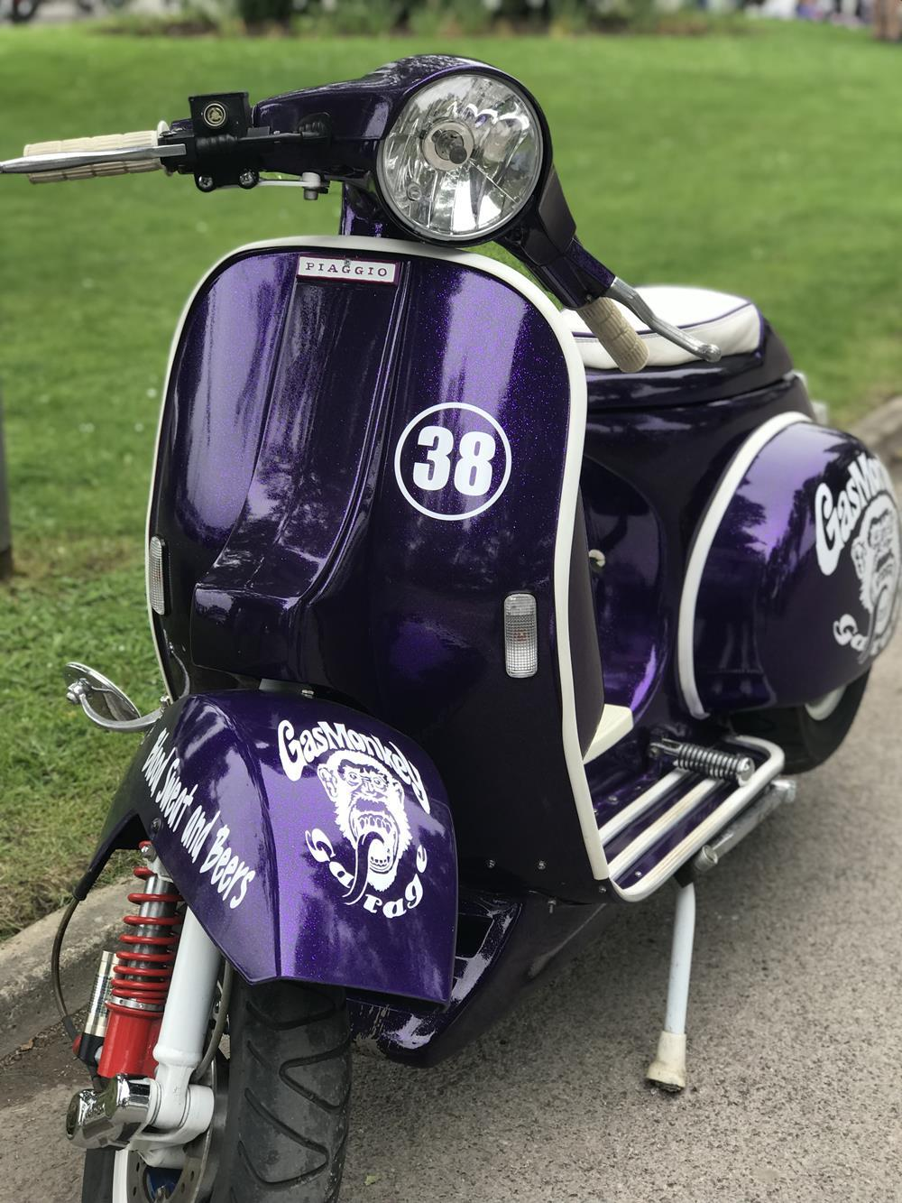 Gas Monkey Vespa PX scooter