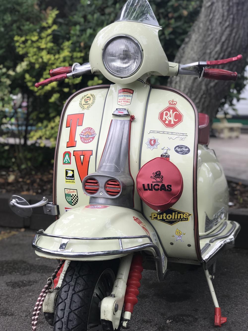 Lambretta TV scooter